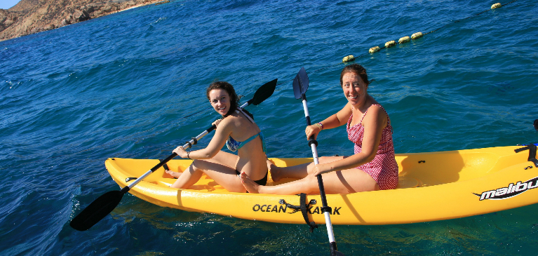 Kayaking and Snorkeling