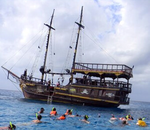 Pirate Ship Snorkel